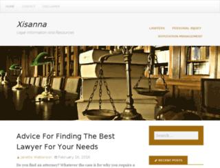 xisanna.com screenshot