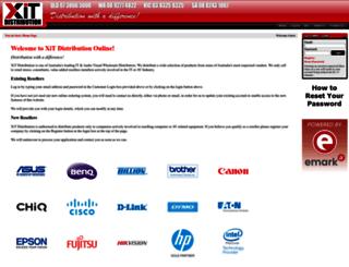 xitdistribution.com.au screenshot