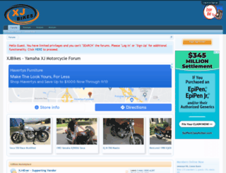 xjbikes.com screenshot