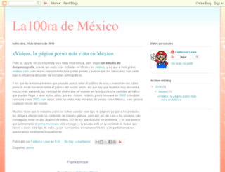 xklibur.la100rra.com.mx screenshot
