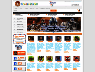 xl-shop.com screenshot