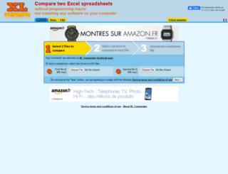 xlcomparator.net screenshot