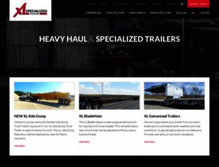 xlspecializedtrailer.com screenshot