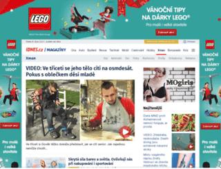 xman.idnes.cz screenshot