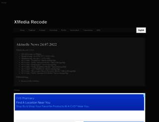 xmedia-recode.de screenshot