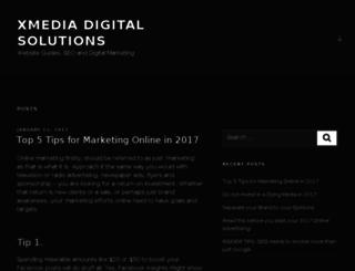 xmediagroup.com.au screenshot