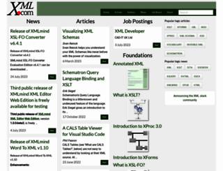 xml.com screenshot