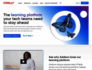 xml.oreilly.com screenshot