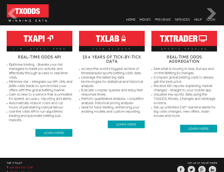 xml2.txodds.com screenshot