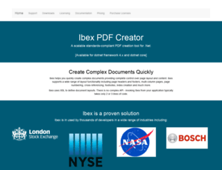 xmlpdf.com screenshot