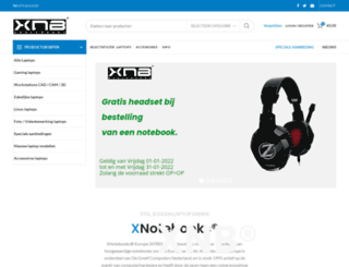 xnotebooks.nl screenshot