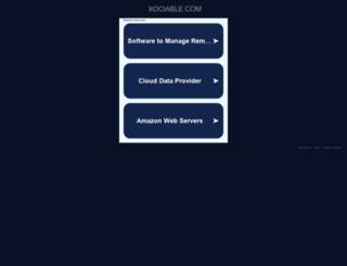 xociable.com screenshot