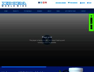 xoomaworldwide.com screenshot