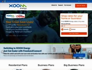 xoomenergy.com screenshot