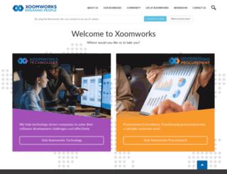 xoomworks.ro screenshot