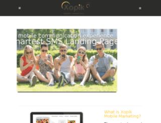 xopik.com screenshot