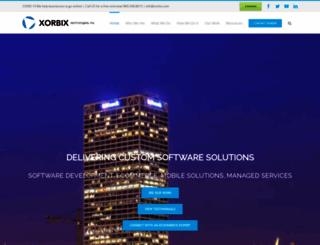 xorbix.com screenshot