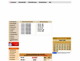 xoso.sms.vn screenshot