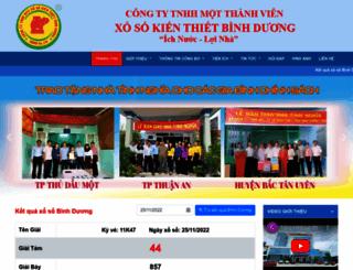 xosobinhduong.com.vn screenshot