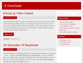 xoverload.com screenshot