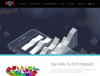 xoxpostpaid.com.my screenshot