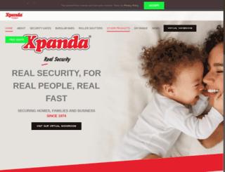 xpanda.co.za screenshot