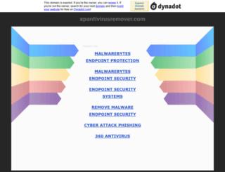 xpantivirusremover.com screenshot