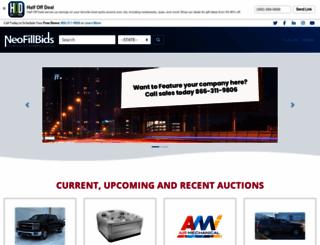 xpen.neofillbids.com screenshot