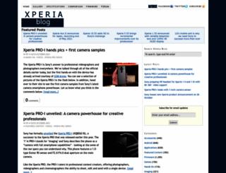 xperiablog.net screenshot
