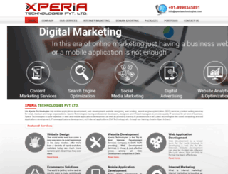 xperiatechnologies.com screenshot