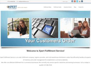 xpertfulfillment.com screenshot