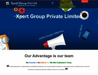 xpertgroup.org screenshot