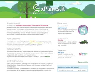 xplants.net screenshot