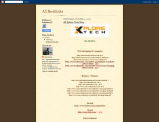 xplore-techsites.blogspot.com screenshot