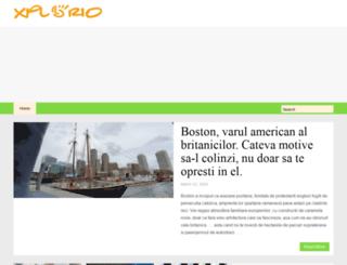 xplorio.ro screenshot