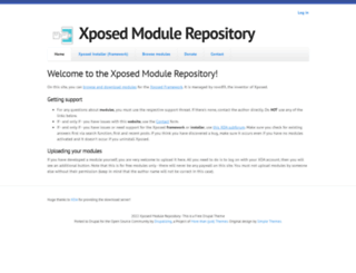 xposed.info screenshot