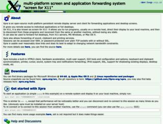 xpra.org screenshot