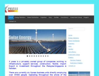 xpresgroup.com screenshot