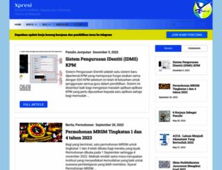 xpresi.org screenshot