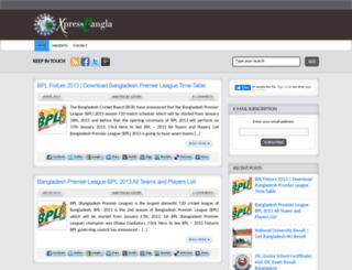 xpressbangla.com screenshot