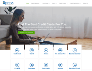 xpresscardsearch.com screenshot