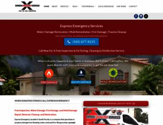 xpressemergencyservices.com screenshot