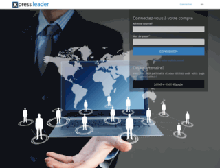 xpressleader.com screenshot