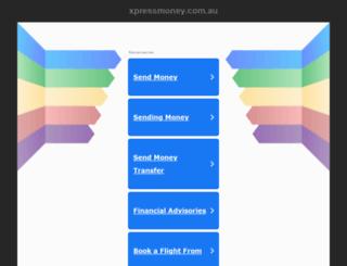 xpressmoney.com.au screenshot