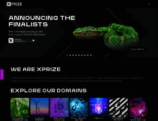 xprize.org screenshot