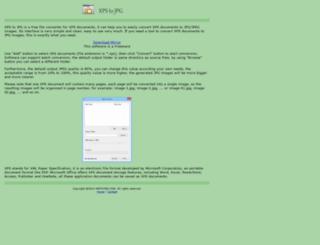 xpstojpg.com screenshot