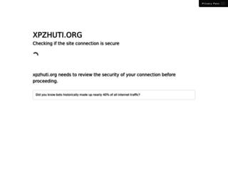 xpzhuti.org screenshot
