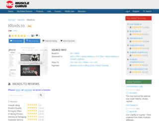 xroids.net screenshot