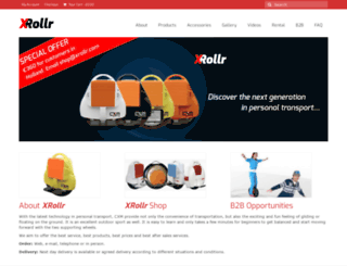 xrollr.com screenshot