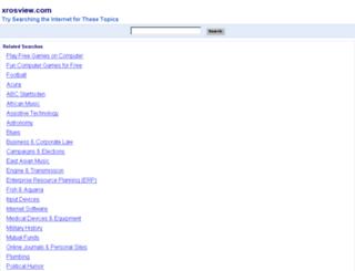 xrosview.com screenshot